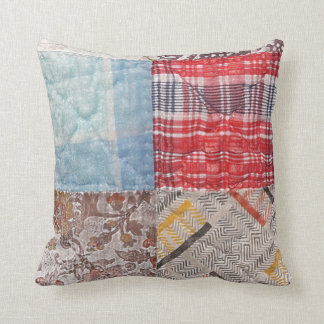 Patchwork Pillows - Decorative & Throw Pillows Zazzle