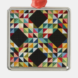 patchwork quilt - WOWCOCO Metal Ornament