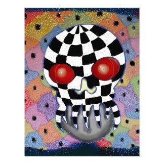 Patchwork Skull Letterhead