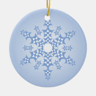 Patchwork Snowflake Ornament