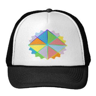 Patchwork Sprinkles Mesh Hat