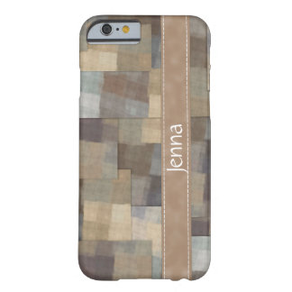 Patchwork Squares Barely There iPhone 6 Case