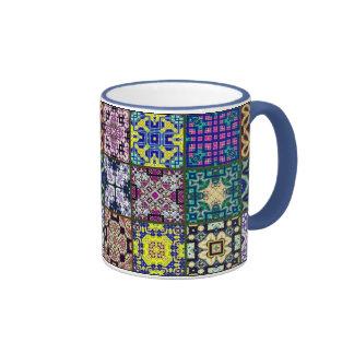 Patchwork Squares Mug