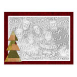Patchwork Tree Template Postcards