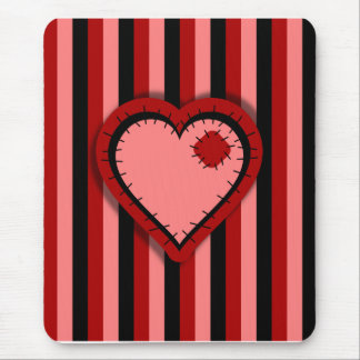 Patchwork Valentine Mouse Pad