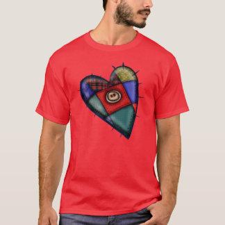 Patchwork Valentines T-Shirt