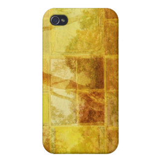Patchwork Window iPhone 4 Cover