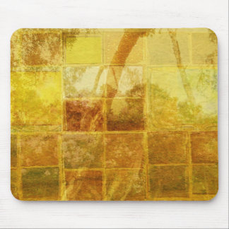 Patchwork Window Mouse Pad
