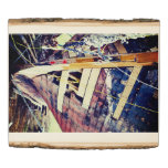 Patchwork Wooden Ship Wood Panel