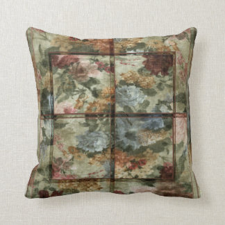 Patchworks #6 throw pillow