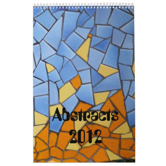 Patchworks and abstracts 2012 calendar