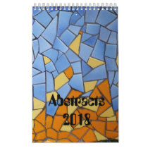Patchworks and abstracts 2018 calendar