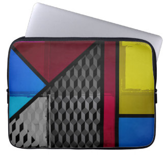 Patchy Colors Laptop Sleeve