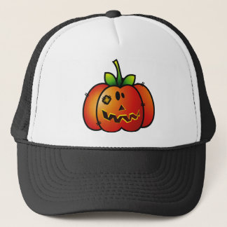PATCHY PUMPKIN JACK-O-LANTERN 1 TRUCKER HAT