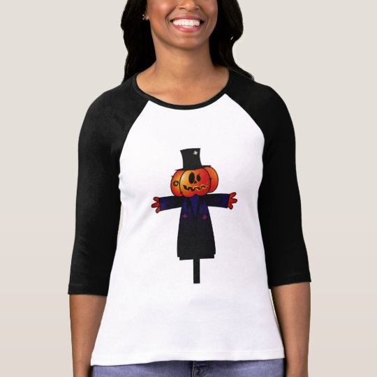 PATCHY PUMPKINHEAD SCARECROW W/ TOPHAT T-Shirt