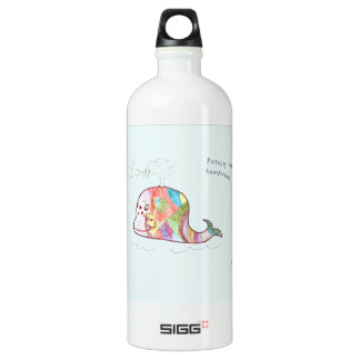 PATCHY THE HUMPWHALE ALUMINUM WATER BOTTLE