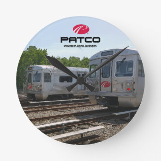 PATCO Circle Wall Clock