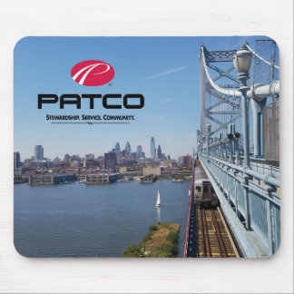 PATCO Philadelphia Skyline Mousepad