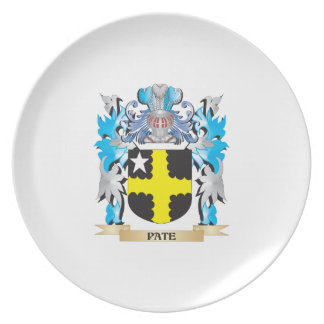 Pate Coat of Arms - Family Crest Plate