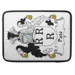 Pate Family Crest MacBook Pro Sleeves