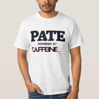 Pate powered by caffeine tees
