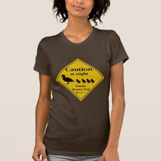 Pateke Sign Brown T-Shirt