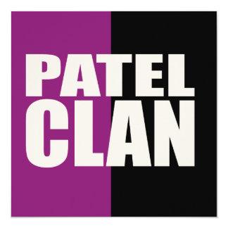 Patel Clan Card