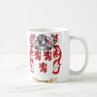 Patel Coat of Arms (Family Crest) Coffee Mug