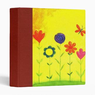 patel flower scrapbook 3 ring binder
