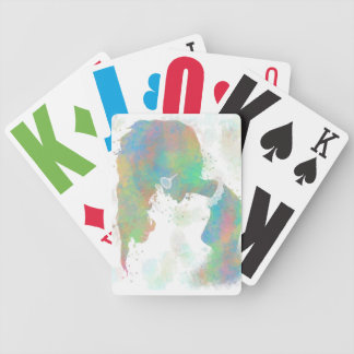 Patel Silhouette Playing Cards
