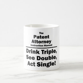patent attorney coffee mug