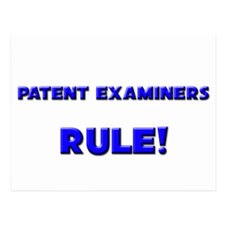 Patent Examiners Rule! Postcard