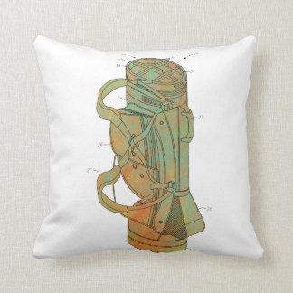 Patent Image of Golf Bag Throw Pillows