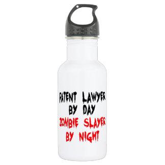 Patent Lawyer Zombie Slayer Water Bottle