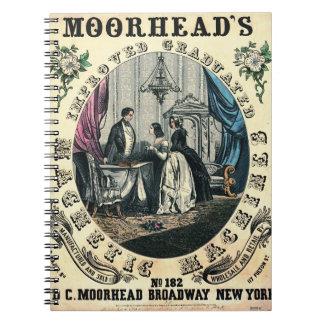 Patent Medicine Ad 1848 Note Book