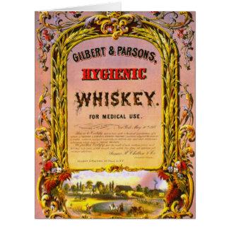 Patent Medicine Ad 1860 Large Greeting Card