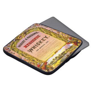 Patent Medicine Ad 1860 Laptop Sleeves