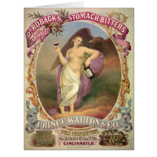 Patent Medicine Ad 1866 Card