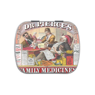 Patent Medicine Ad 1874 Jelly Belly Candy Tins