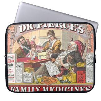 Patent Medicine Ad 1874 Laptop Sleeve