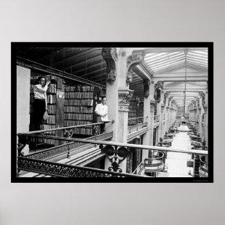 Patent Office Interior 1920 print