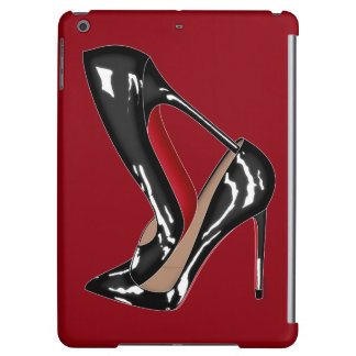 Patent Red Bottoms shoes with high heels Cover For iPad Air