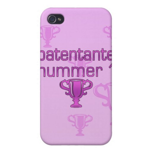 Patentante Nummer 1 iPhone 4/4S Carcasas