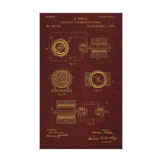 Patente 00382280 Sht 2 de Tesla Lona Estirada Galerías