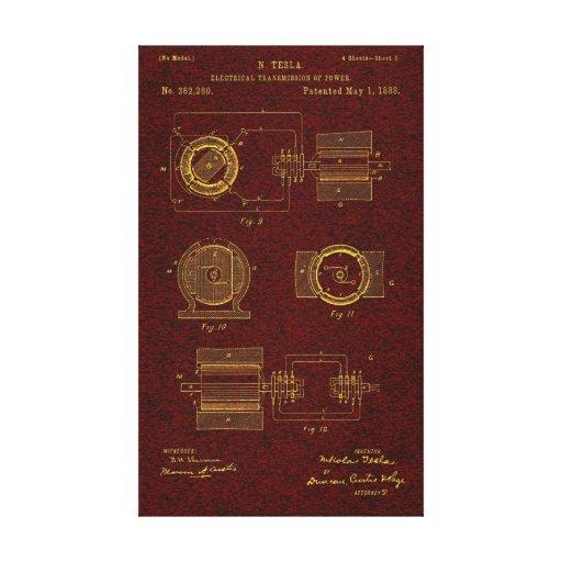 Patente 00382280 Sht 2 de Tesla Lona Envuelta Para Galerias