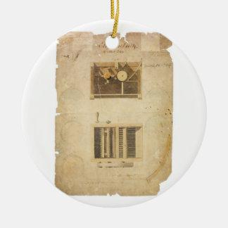 Patente de Eli Whitney para la ginebra de algodón Ornamente De Reyes