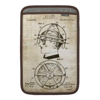 Patente de la bicicleta - arte del siglo XIX Funda Para Macbook Air