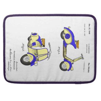 Patente de la bicicleta del motor circa 1949 - fundas macbook pro