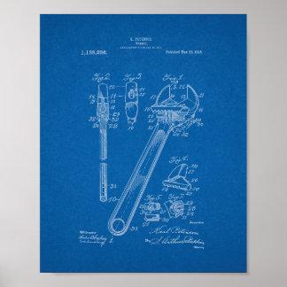 Patente de la llave - modelo póster