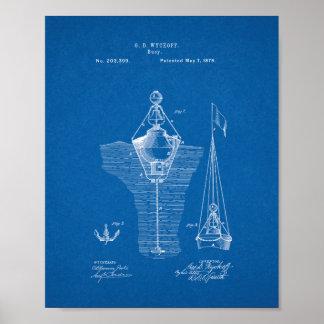 Patente de las boyas - modelo posters
